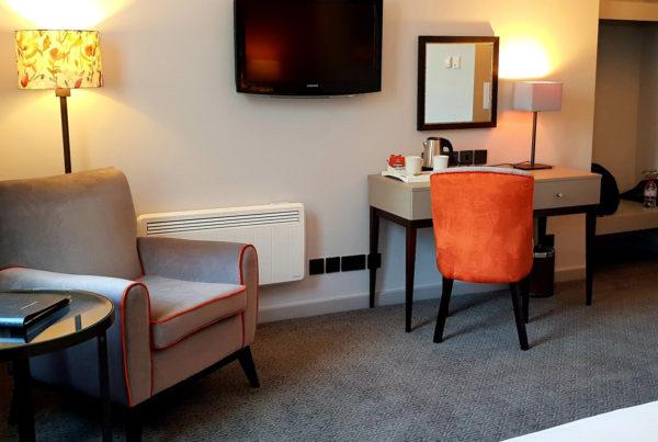 Hotel bedroom refurbishment 1