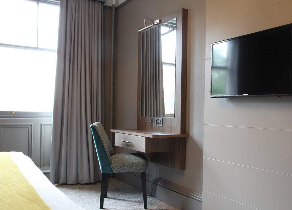 Yorkshire Hotel refurbishment - room interior
