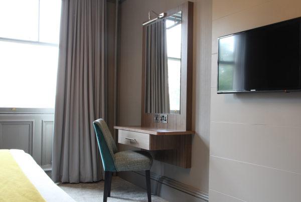Yorkshire Hotel refurbishment - room interior