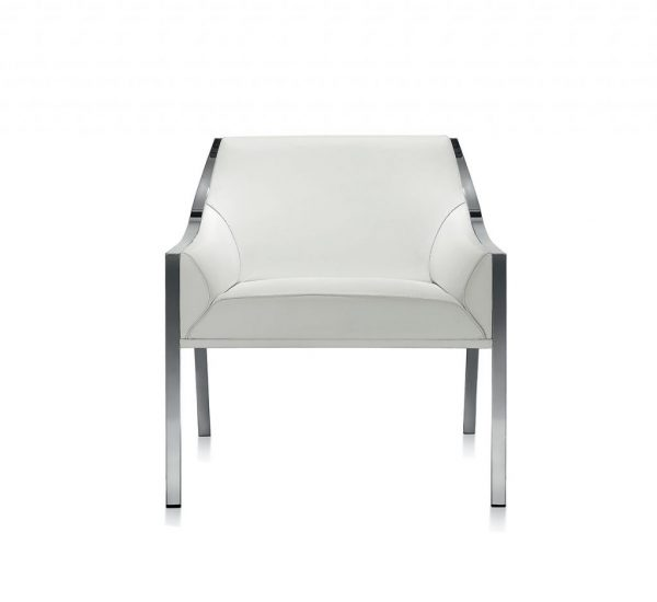 Aileron L lounge chair - front
