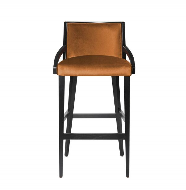 FFE furniture- Alias barstool, front view