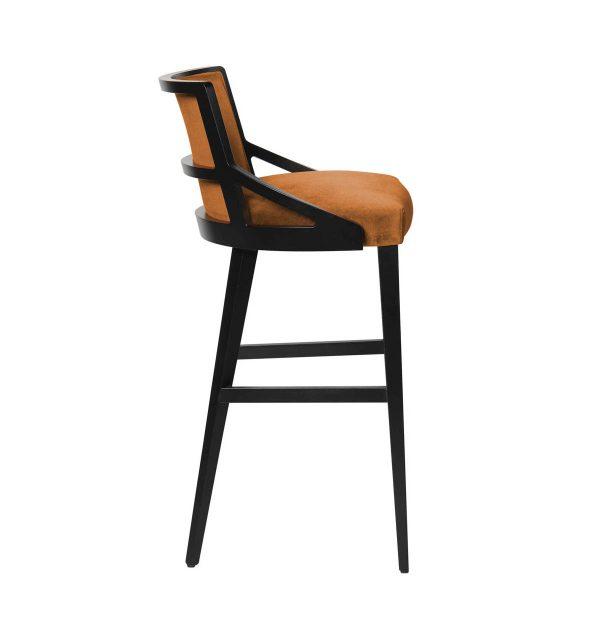 FFE furniture- Alias barstool, side view