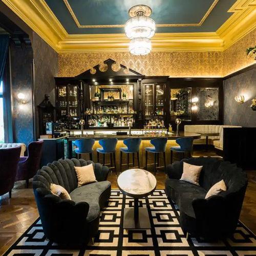 Bespoke bar furniture for Armathwaite Hall cocktail bar