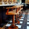 bespoke swivel bar stools