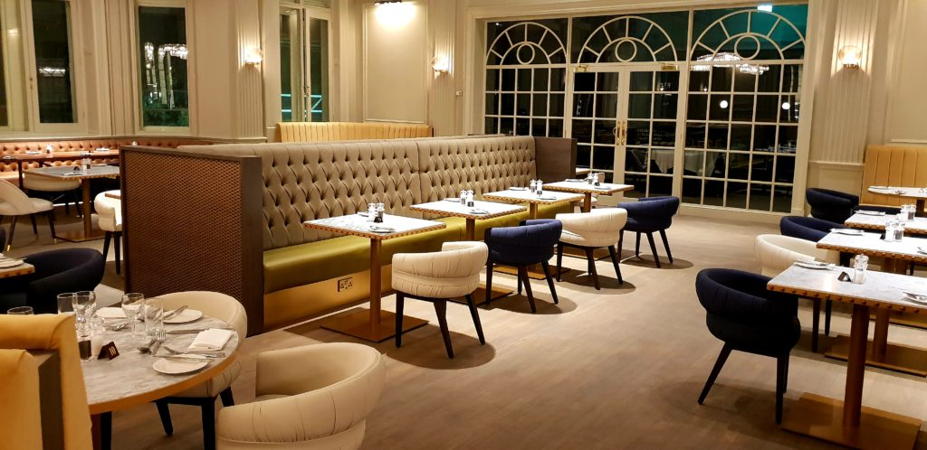 Bespoke fixed seating and tables