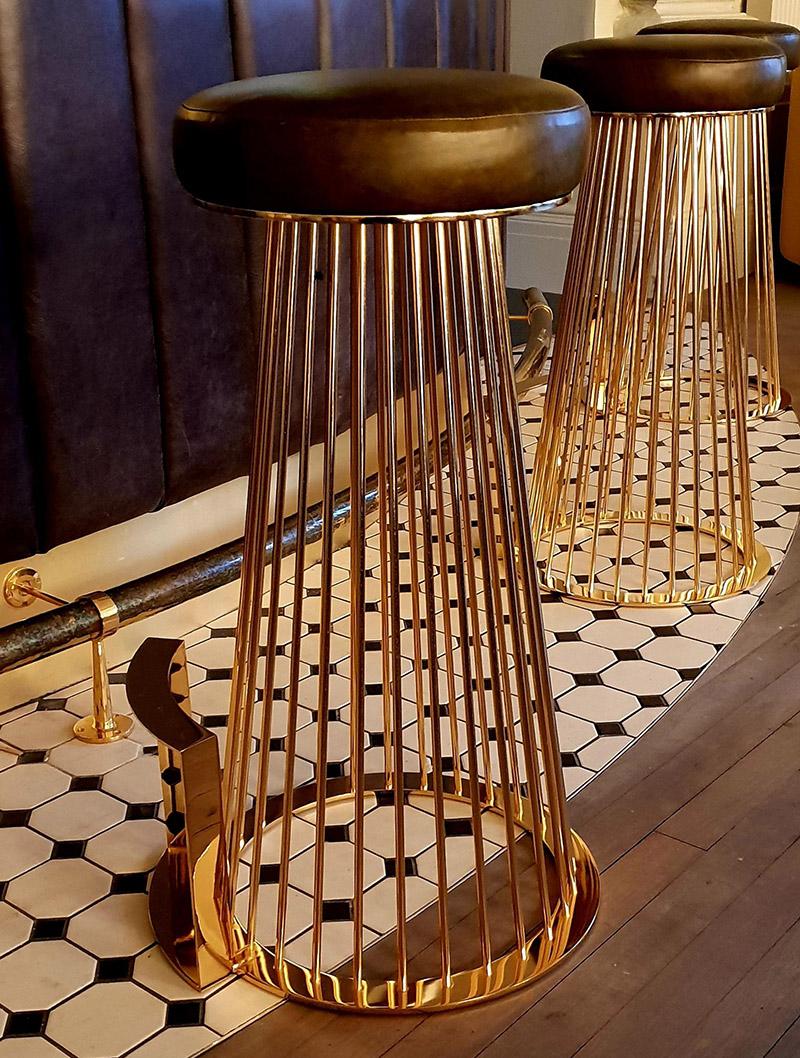 Barstools for Harrogate Champagne Bar