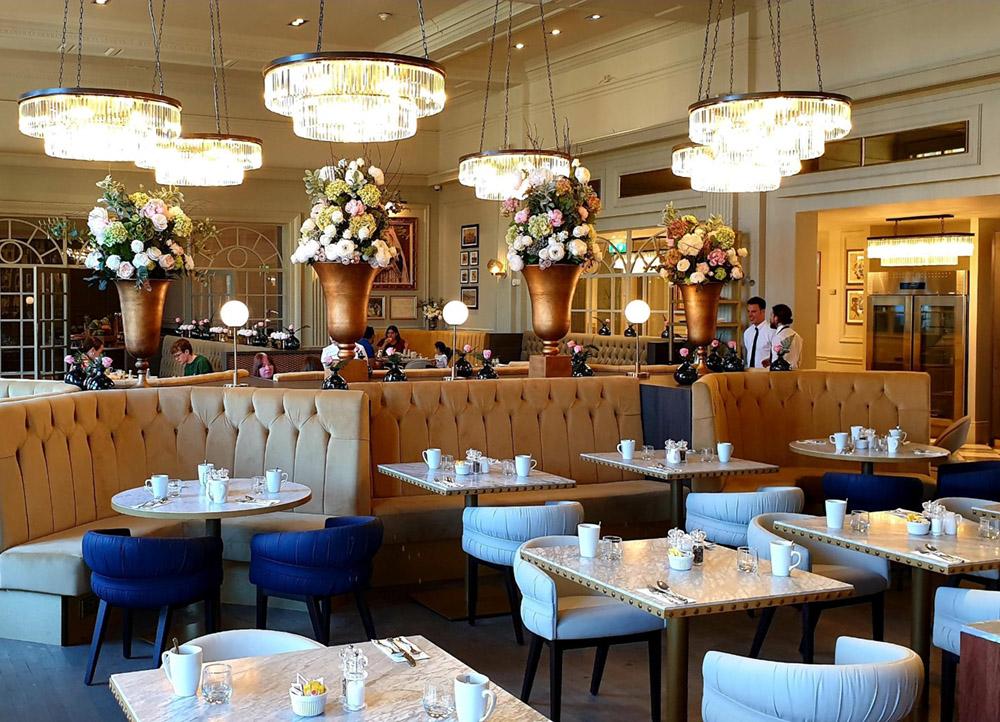 Majestic restaurant refurbishment