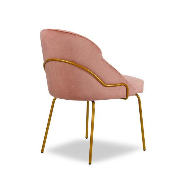 FFE furniture - Paris tube dining chair rear view