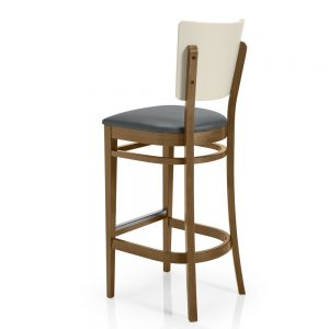 Contract furniture - padded barstool London A370