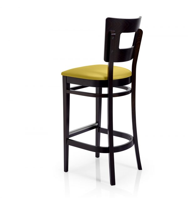 Contract furniture - padded barstool London A372