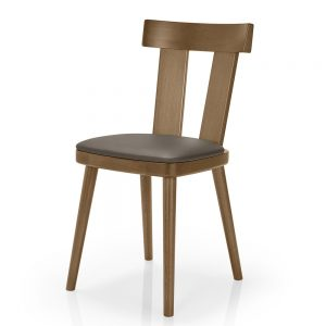 Contract furniture dining chair - Bamba 385 - front