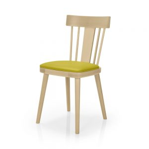 Contract furniture dining chair - Bamba 386 - front