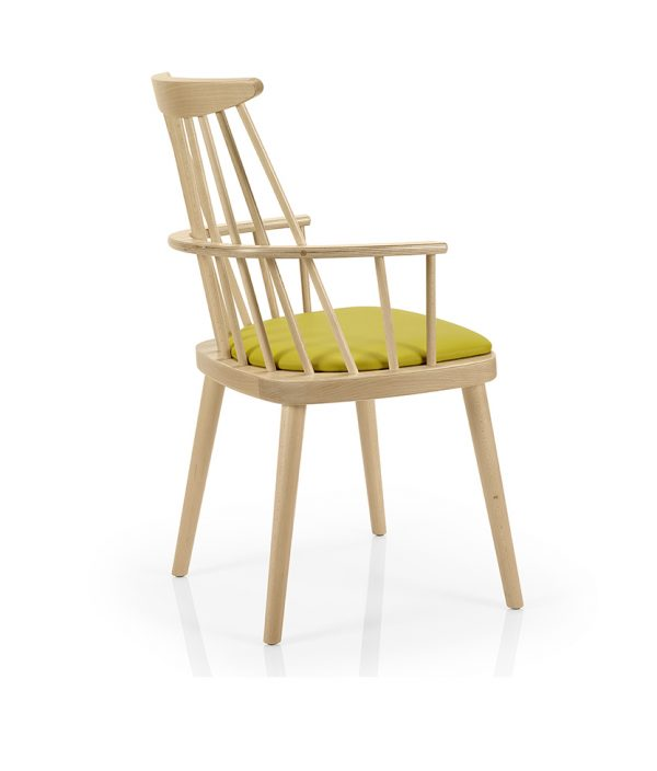 Contract furniture dining chair - Bamba 387 - back