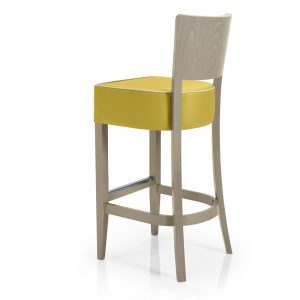 Contract furniture - Lorena barstool with padded seat