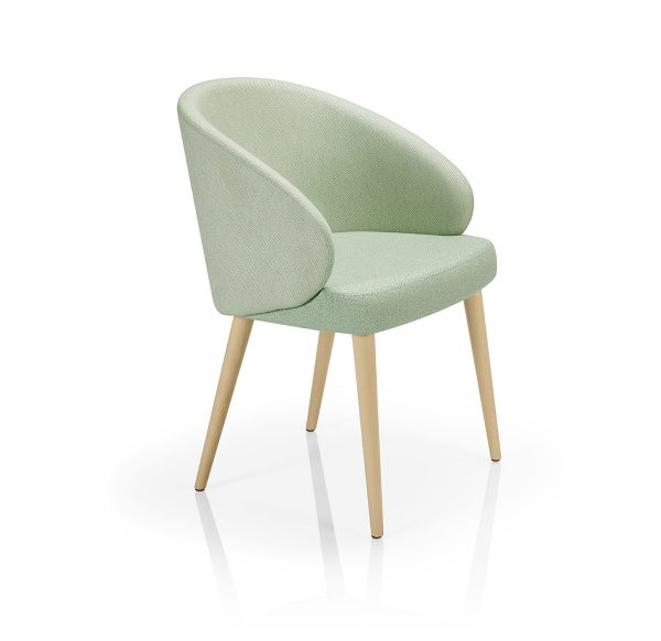 Contract furniture - Lounge chair Lana A974CST