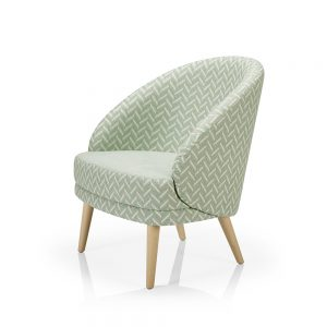 Contract furniture - Lounge chair Lana A975ST