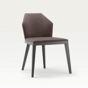 Contract furniture dining chair - Rock design