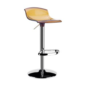 Contract furniture - adjustable barstool in amber